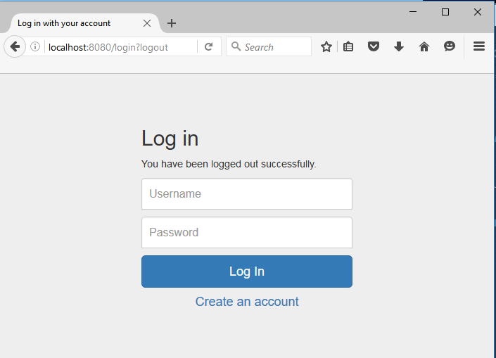 Registration And Login Example With Spring Mvc Spring