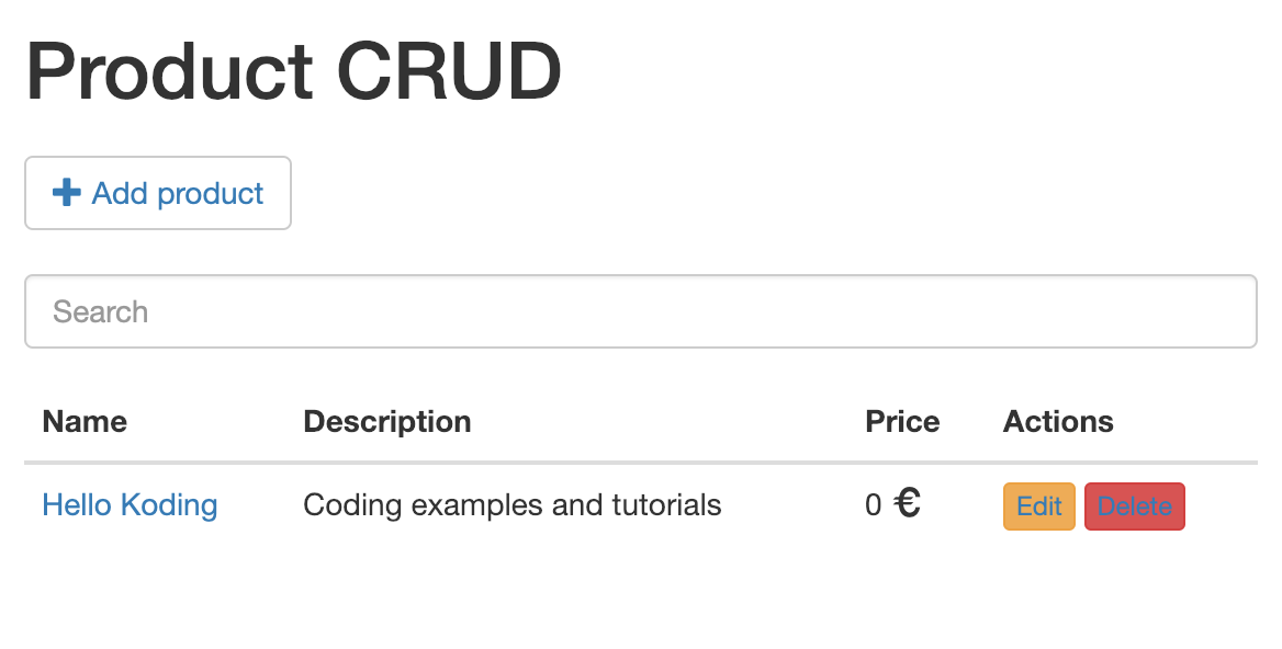 Spring Boot CRUD Example with RESTful APIs, JPA, Hibernate, MySQL