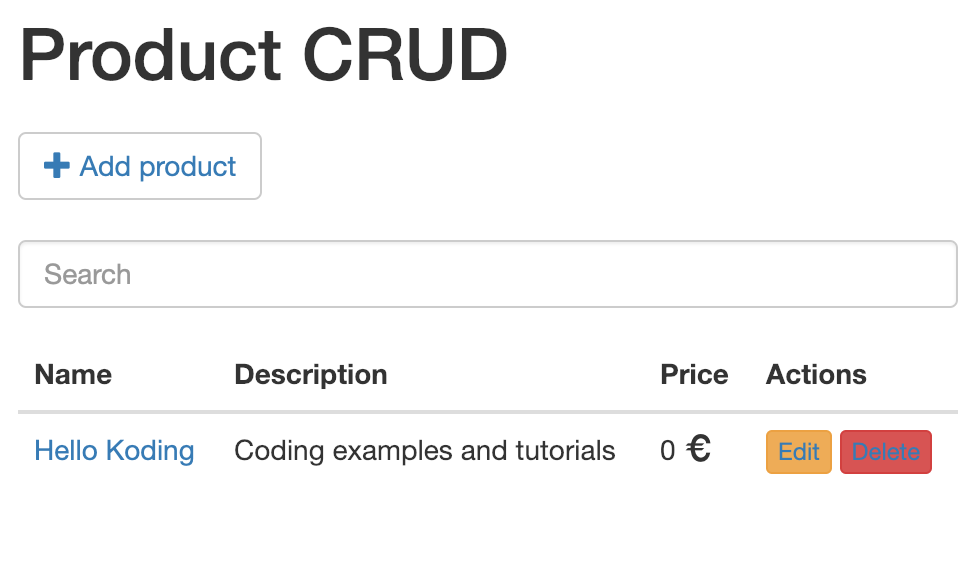 Spring Boot CRUD Example with RESTful